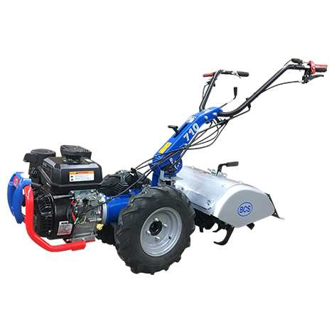 Tractors and Attachments BCS Gardening Equipment 710