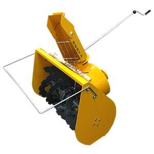Tractors and Attachments BCS Gardening Equipment - 2 Stage Snow Thrower