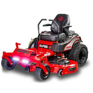 BigDog Mower Alpha Zero Turn Rider | the Lawnmower Hospital
