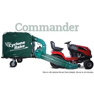 Cyclone Rake Vacuums and Blowers - Commander