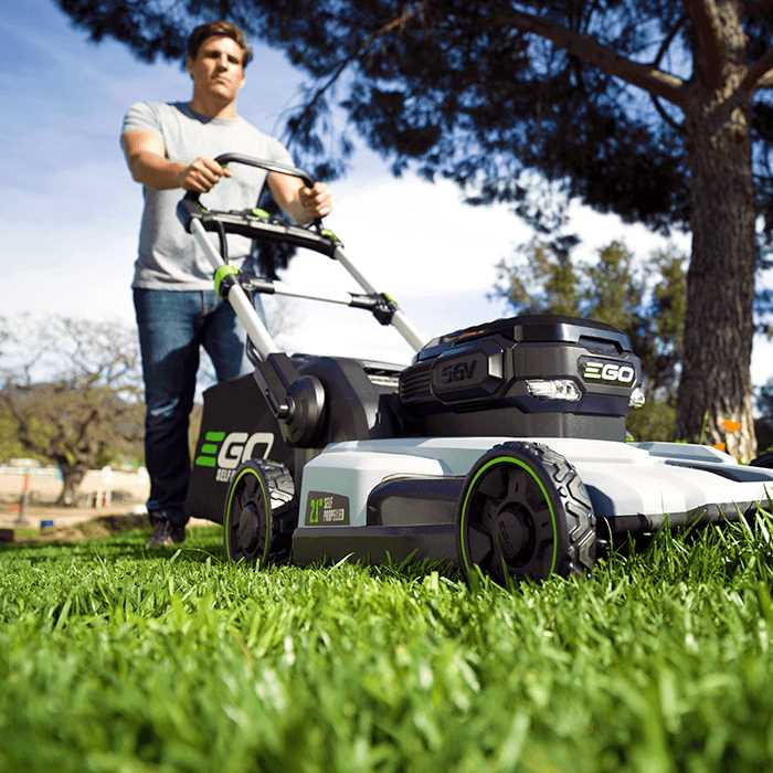 Ego Power 21 Quot Self Propelled Lawn Mower The Lawnmower