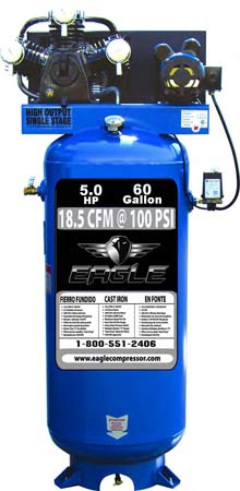 Oil Pressure Switch >> Eagle C5160V1 Electric Stationary Air Compressor | the Lawnmower Hospital