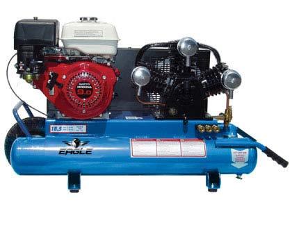 Eagle Tt90g Portable Gas Air Compressor The Lawnmower
