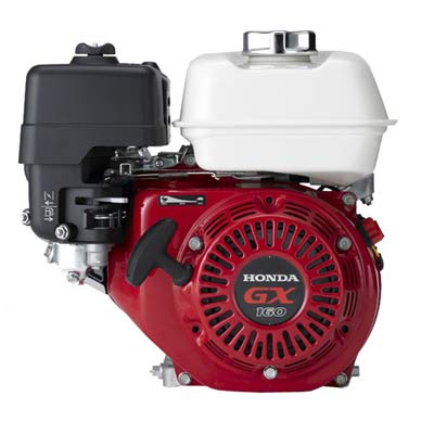 Honda gx160 5 5 hp horizontal commercial engine the 5hp motor