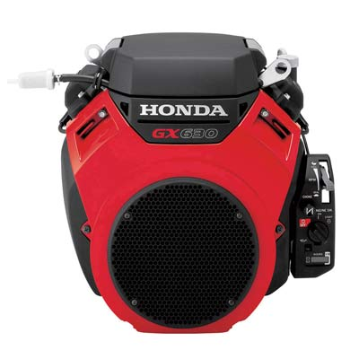 Honda gx630 20 hp v twin horizontal commercial engine for Small honda motors for sale