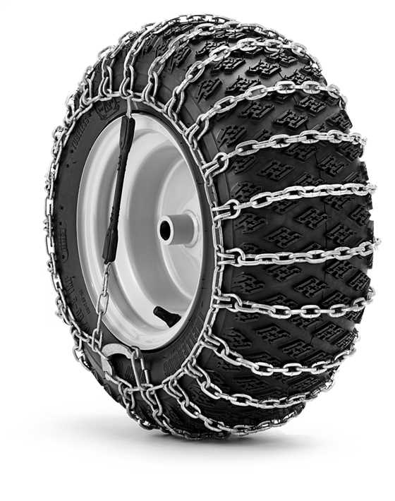 Husqvarna Tractor Tire Chains The Lawnmower Hospital