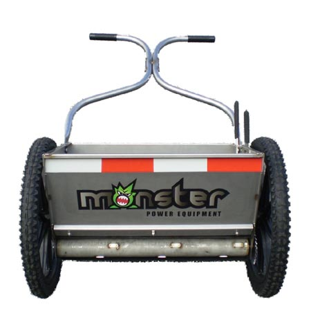 Monster Drop Spreader The Lawnmower Hospital
