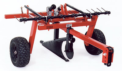 Quadivator Lawn Irrigation Plow The Lawnmower Hospital