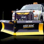 Sno Way Snow Plows Snow and Ice - MegaBlade V Wing Series