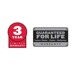 3 Year Warranty - Guaranteed For Life