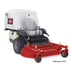 "Toro Zero Turn Riders - 42"" 8000 Series Direct Collect"