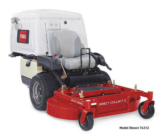 "Toro Zero Turn Riders 42"" 8000 Series Direct Collect"