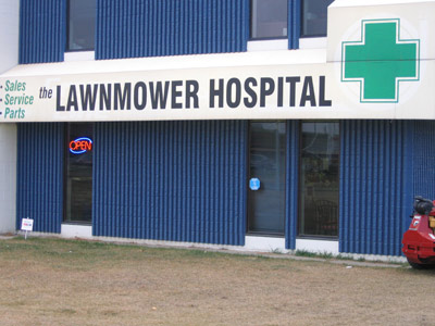 the Lawnmower Hospital